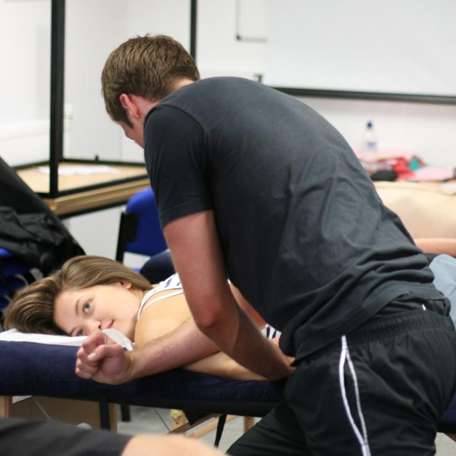 Massage program - Classroom