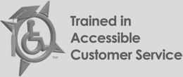 Trained in Accessible Customer Service