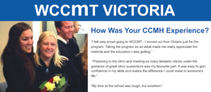 WCCMT - The Survey Results are In! A Pulse on WCCMT Victoria